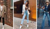 Як носити жіночий піджак з джинсами – модні ідеї