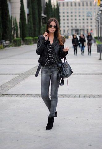 С чем носить серые джинсы – популярные модели этого года? 2