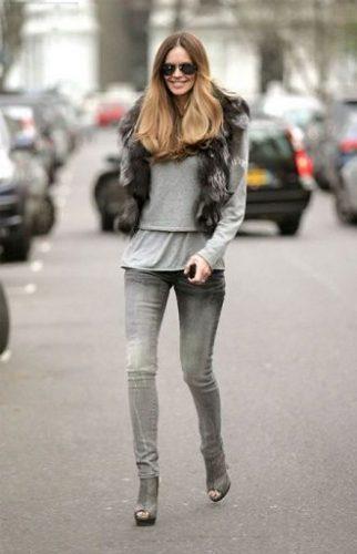 С чем носить серые джинсы – популярные модели этого года? 19