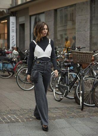 С чем носить серые джинсы – популярные модели этого года? 6