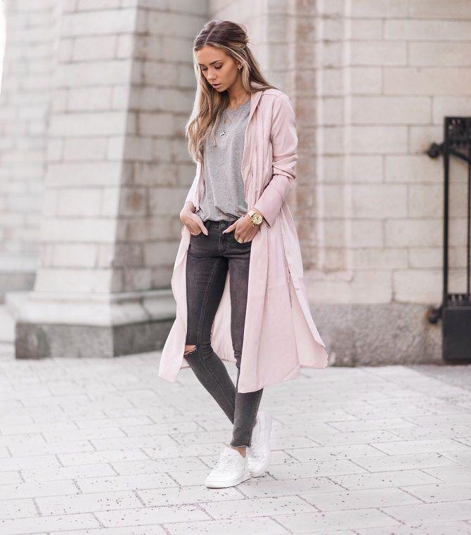С чем носить серые джинсы – популярные модели этого года? 7