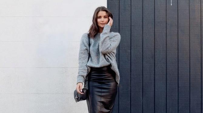 Самые модные способы использовать в гардеробе кожаные вещи – с чем их сочетать? 4
