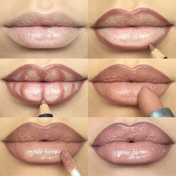 Топ-ошибки в макияже губ, которые делают все 5
