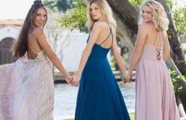 Самые модные платья с открытой спиной 2021