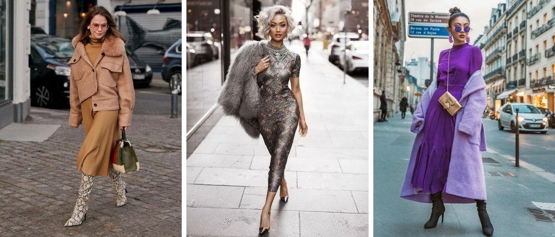 Підбираємо верхній одяг до сукні: головні правила