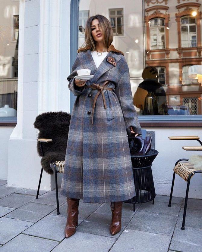 Как носить шерстяное пальто – модные идеи для весны 4