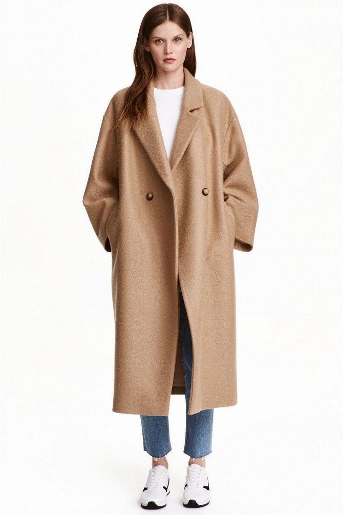 Как носить шерстяное пальто – модные идеи для весны 5