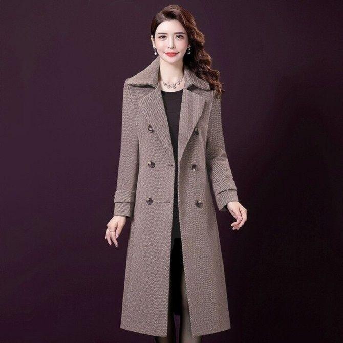 Как носить шерстяное пальто – модные идеи для весны 6