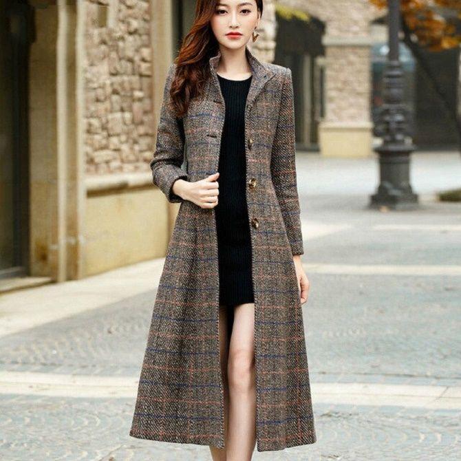 Как носить шерстяное пальто – модные идеи для весны 7