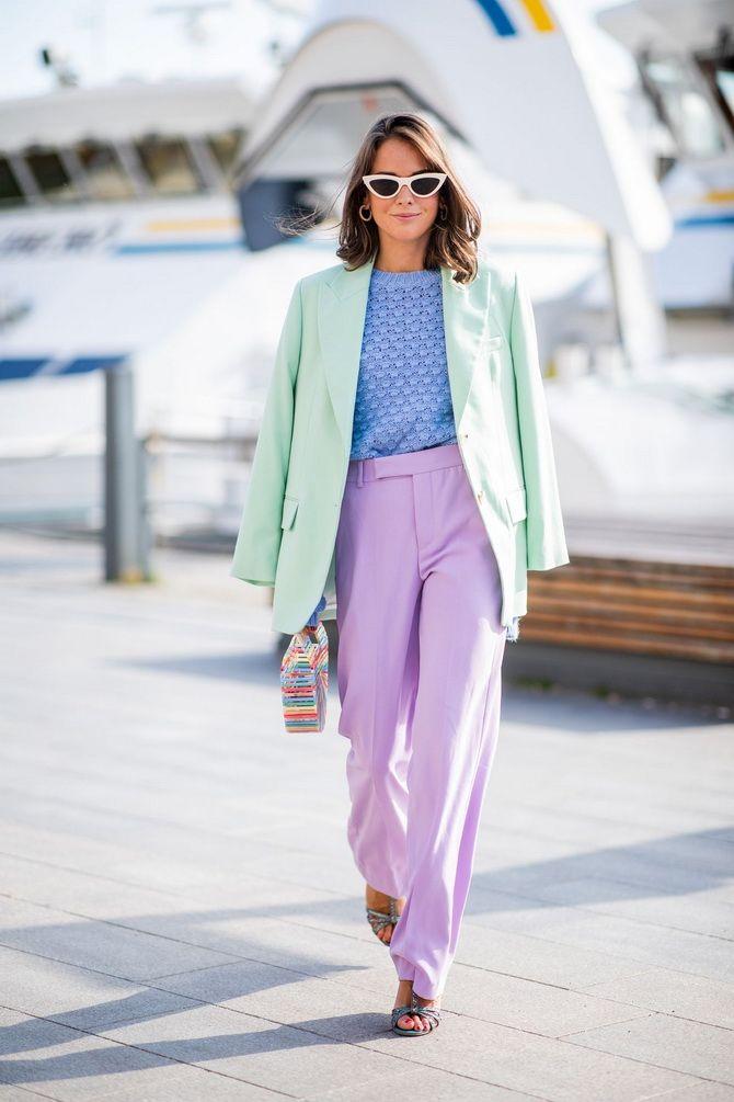 Найстильніші поєднання одягу в пастельних відтінках на 2021 рік 9