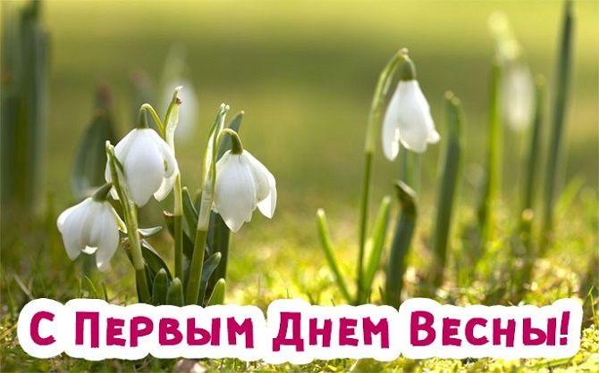 Прикольные поздравления с Первым днем весны 5
