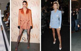 Модна сукня-піджак: кращі образи, кому варто носити