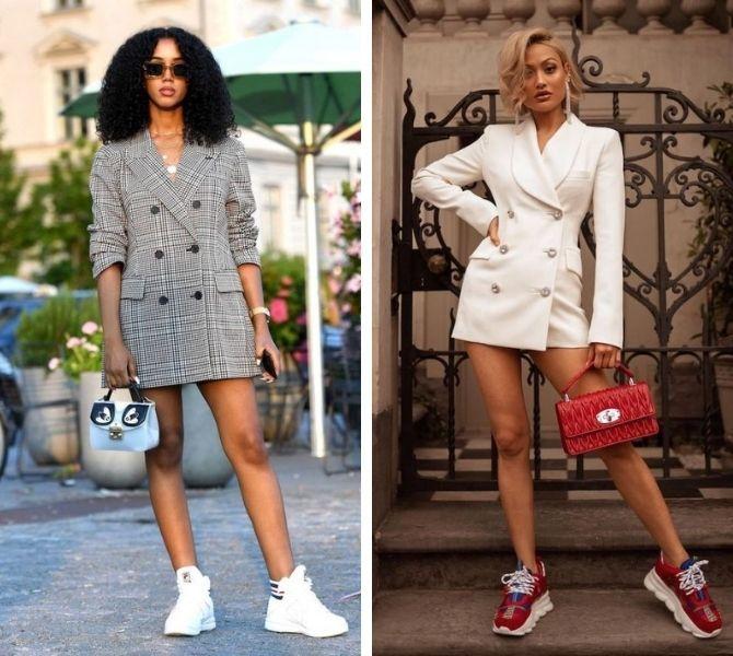 Модна сукня-піджак: кращі образи, кому варто носити 7