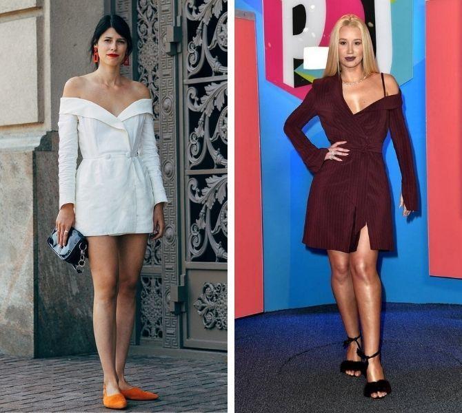Модна сукня-піджак: кращі образи, кому варто носити 12
