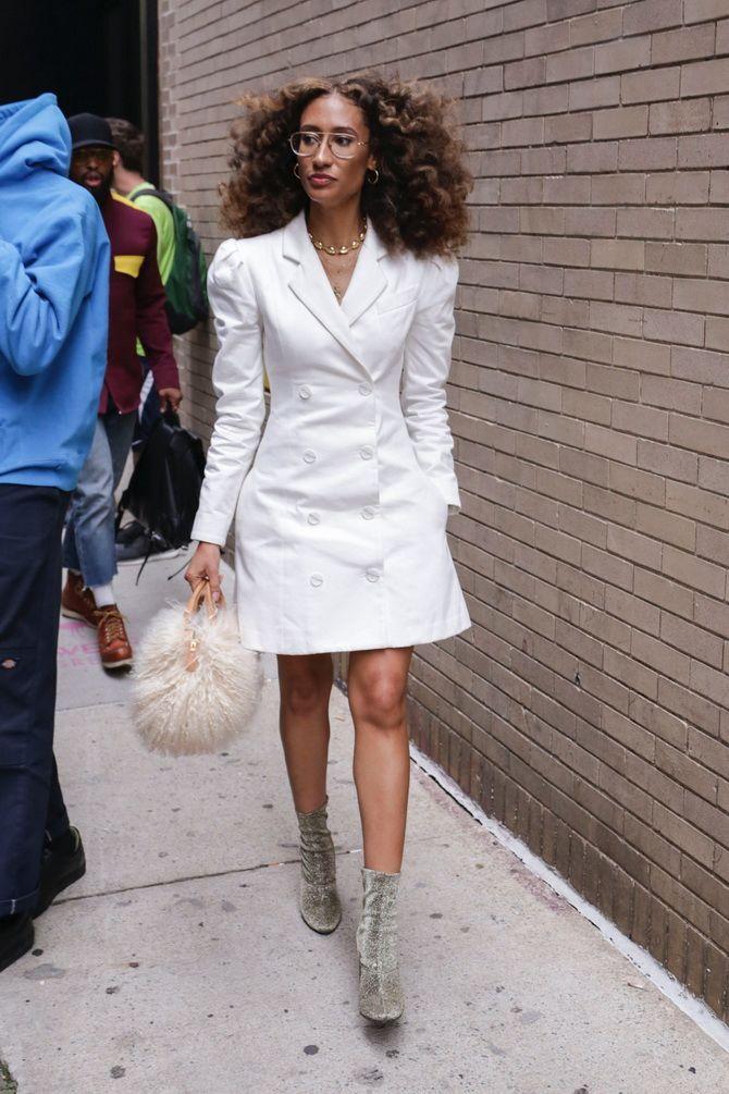 Модна сукня-піджак: кращі образи, кому варто носити 2