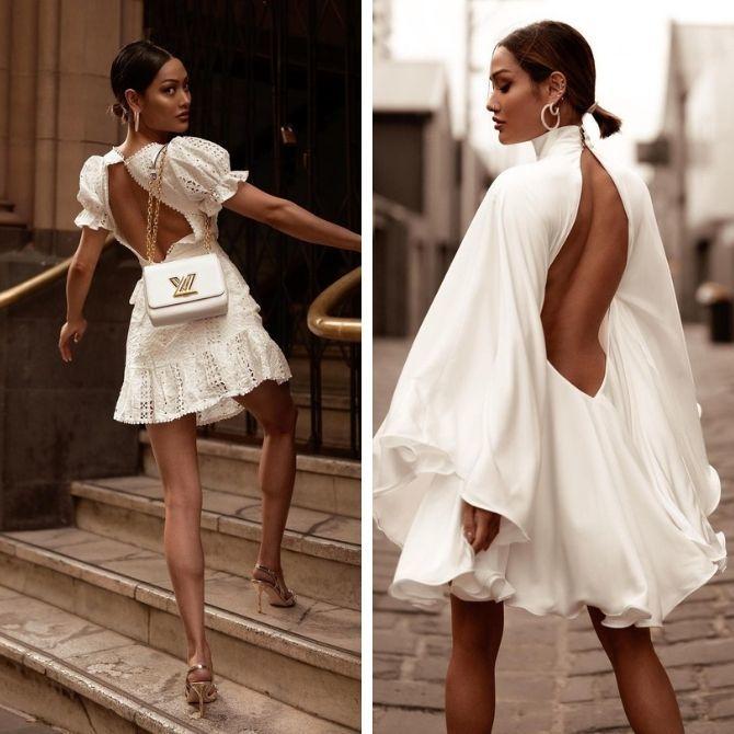 Наймодніші сукні з відкритою спиною 2021 14