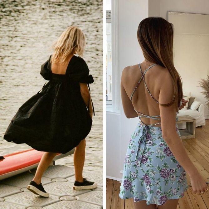 Наймодніші сукні з відкритою спиною 2021 15