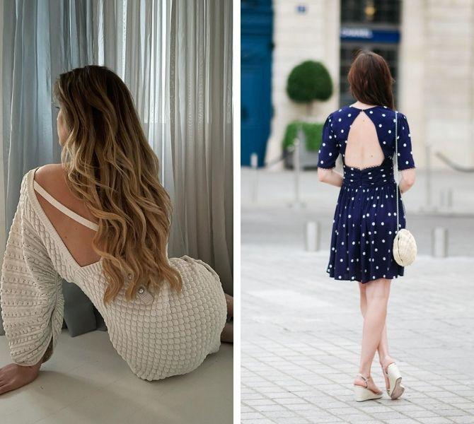 Наймодніші сукні з відкритою спиною 2021 16