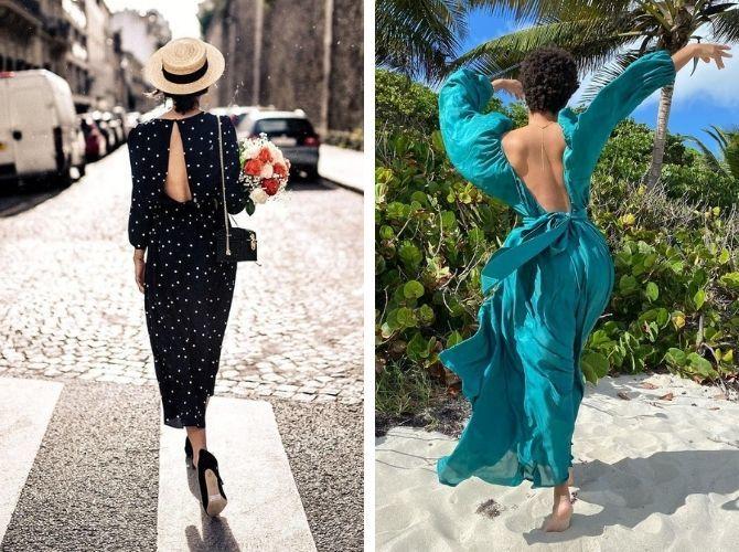 Наймодніші сукні з відкритою спиною 2021 20