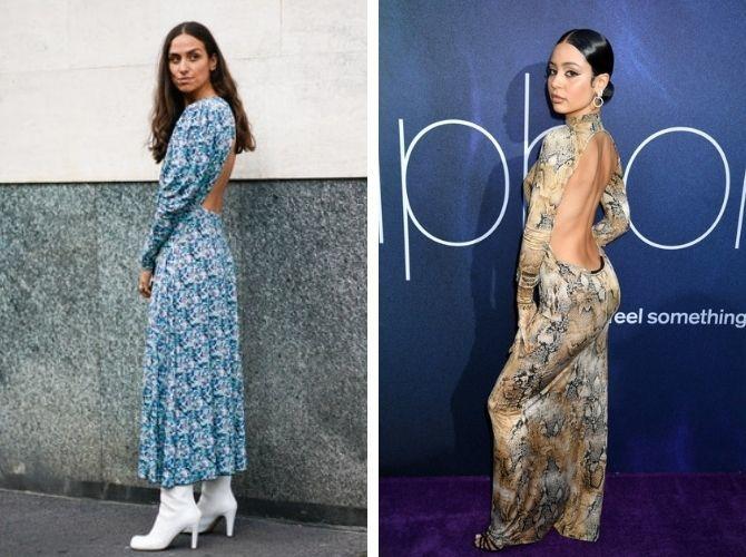 Наймодніші сукні з відкритою спиною 2021 21