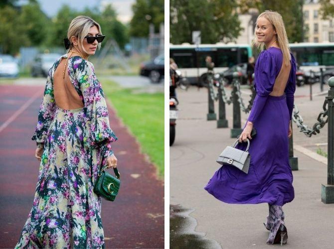 Наймодніші сукні з відкритою спиною 2021 22