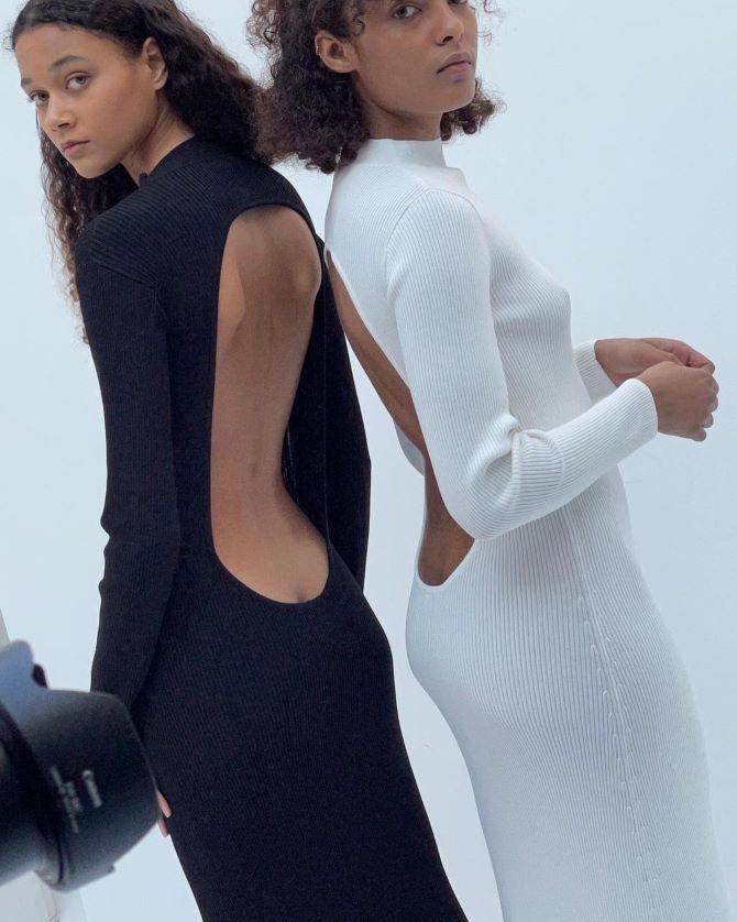 Наймодніші сукні з відкритою спиною 2021 25