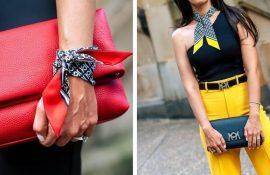 Як зав'язати вузьку хустку: стильні способи