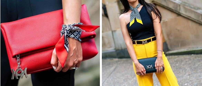 Как завязать узкий платок: стильные способы