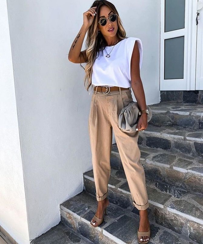 Как скрыть широкие плечи с помощью одежды – советы стилистов 9
