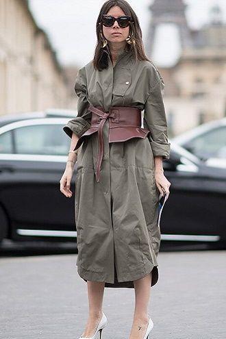 Як носити широкий пояс в цьому сезоні – модні прийоми 2