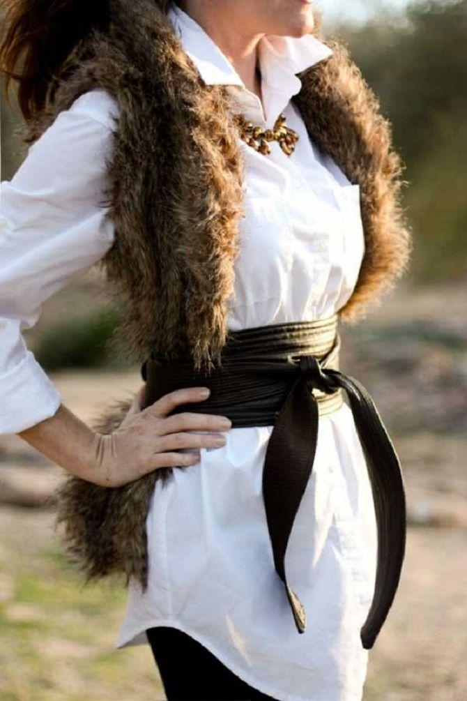 Як носити широкий пояс в цьому сезоні – модні прийоми 13