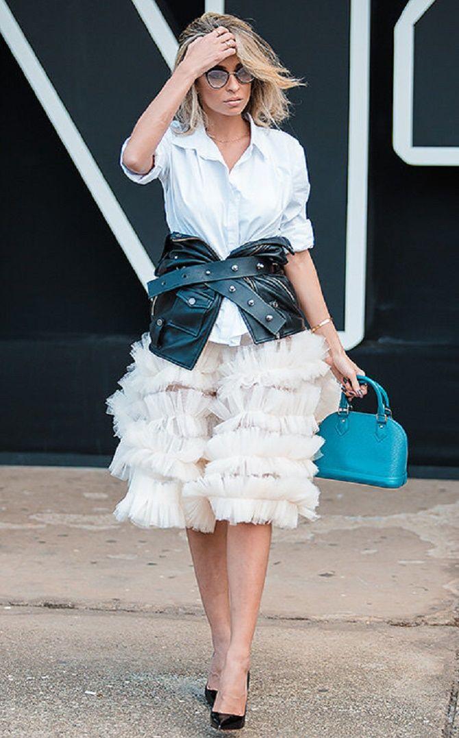 Як носити широкий пояс в цьому сезоні – модні прийоми 14