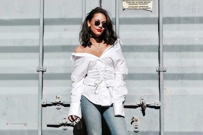 Як носити широкий пояс в цьому сезоні – модні прийоми 15