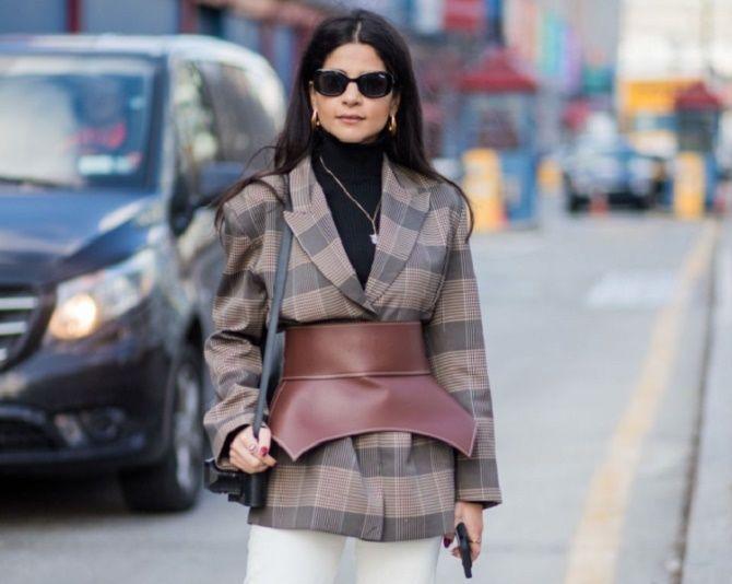 Як носити широкий пояс в цьому сезоні – модні прийоми 17