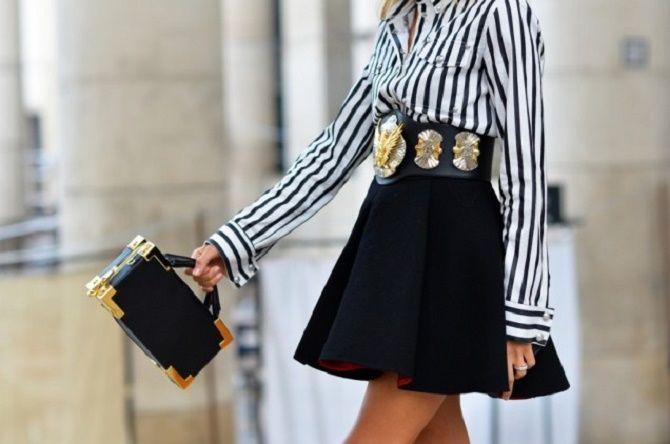Як носити широкий пояс в цьому сезоні – модні прийоми 20