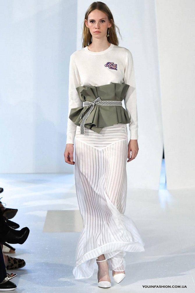 Як носити широкий пояс в цьому сезоні – модні прийоми 21