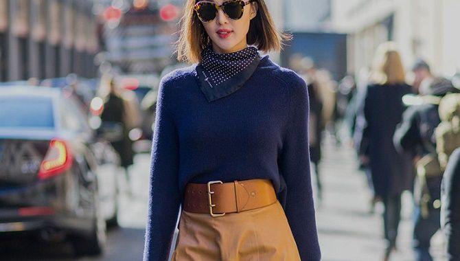 Як носити широкий пояс в цьому сезоні – модні прийоми 22