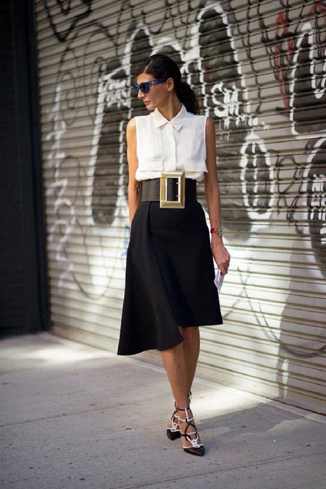 Як носити широкий пояс в цьому сезоні – модні прийоми 23