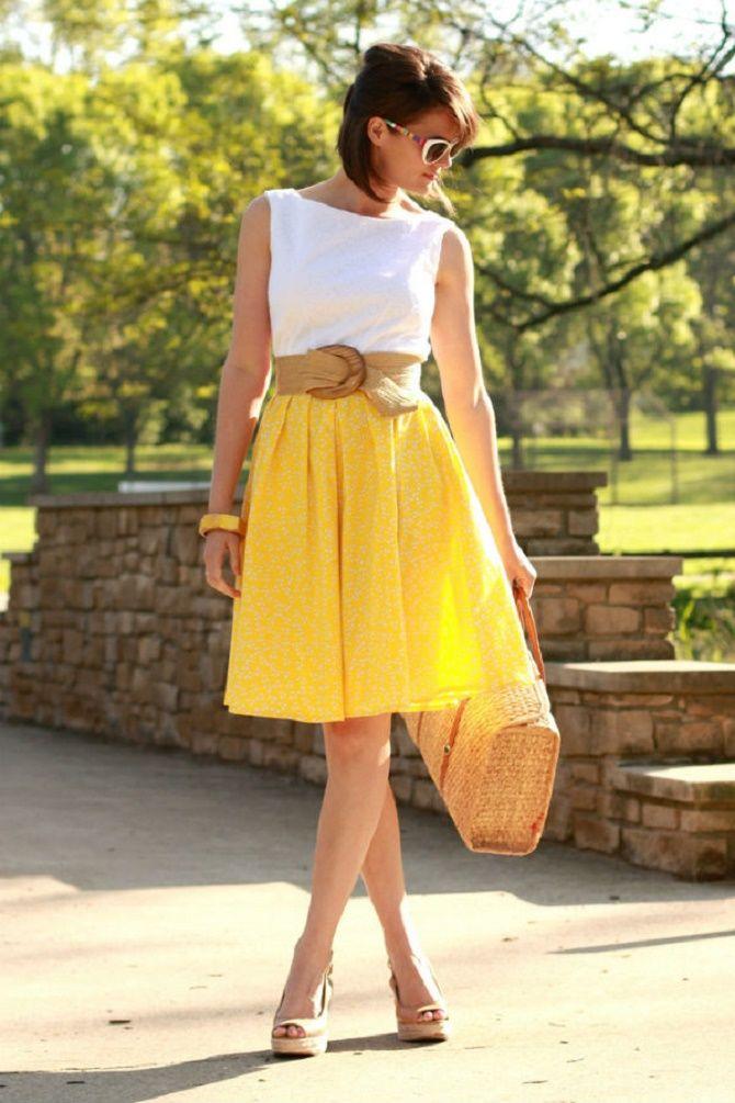 Як носити широкий пояс в цьому сезоні – модні прийоми 24