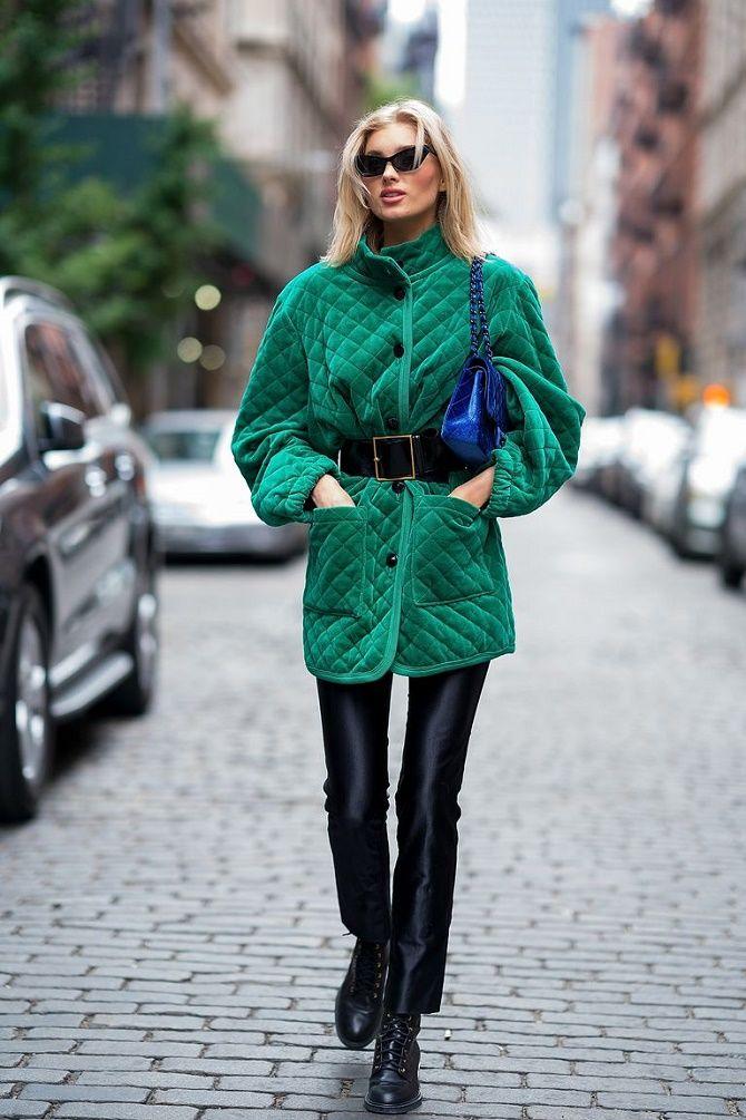 Як носити широкий пояс в цьому сезоні – модні прийоми 4