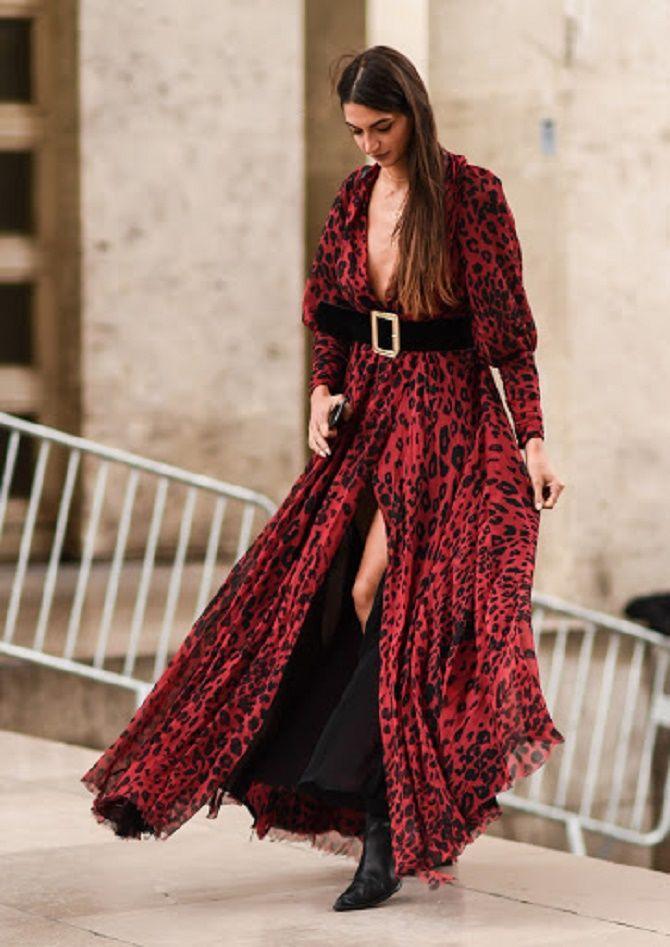 Як носити широкий пояс в цьому сезоні – модні прийоми 8