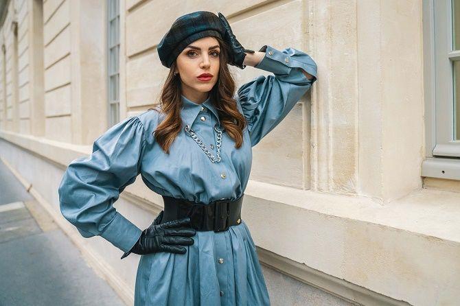 Як носити широкий пояс в цьому сезоні – модні прийоми 10