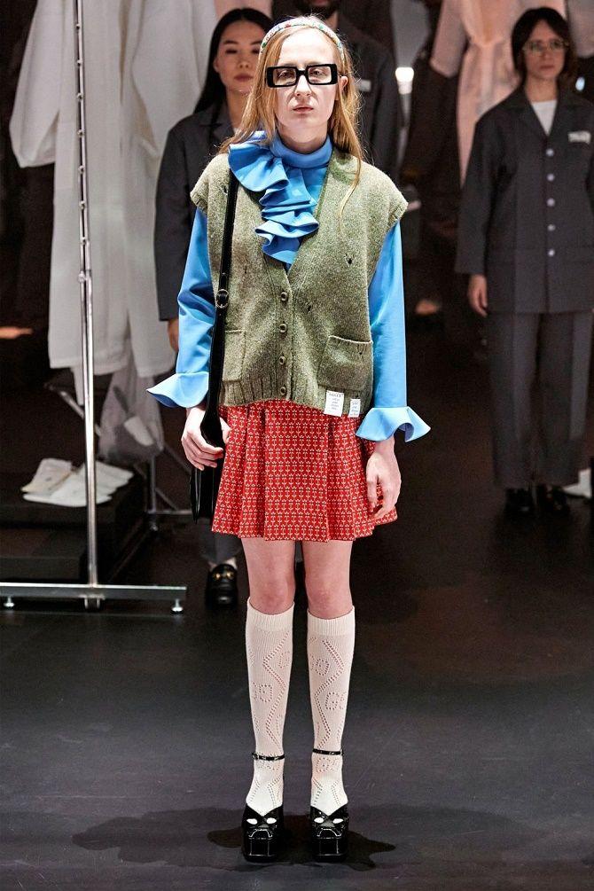 Одягнися як школярка: стиль препп повертається в моду 2