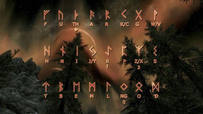 Скандинавські руни – ворожіння і опис футарка 5