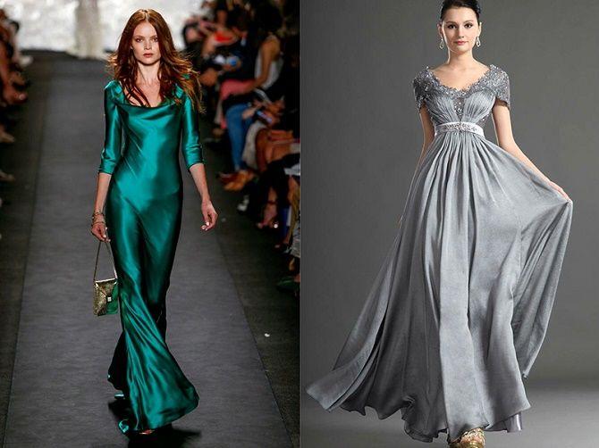 Шелковое платье – как носить самый модный тренд будущего сезона? 2