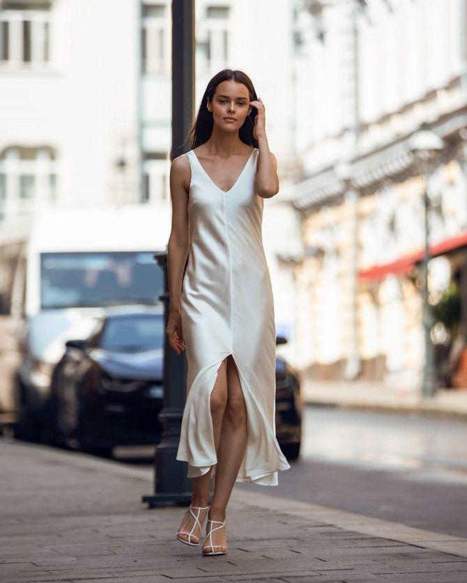 Шелковое платье – как носить самый модный тренд будущего сезона? 3