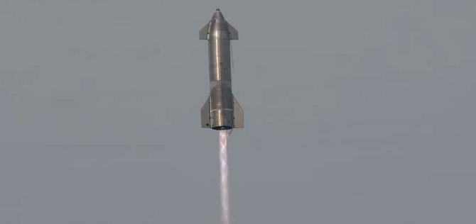 Прототип космического корабля Starship SpaceX для полетов на Марс взорвался после успешной посадки 3