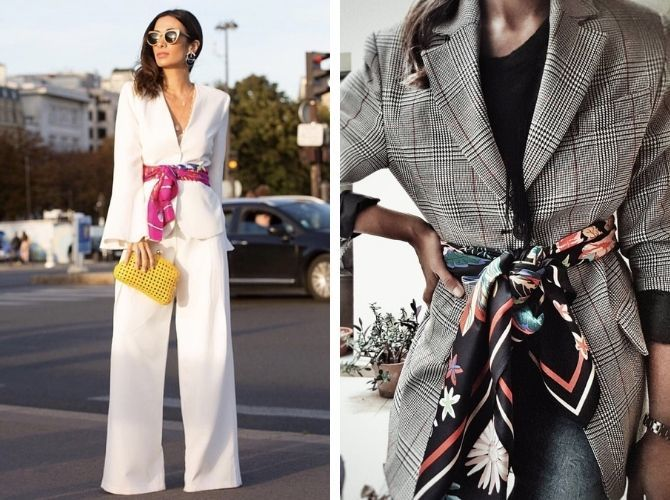 Как завязать узкий платок: стильные способы 12