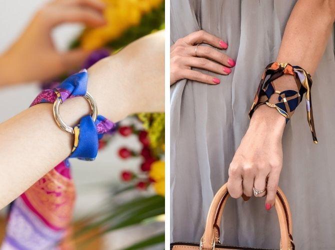 Как завязать узкий платок: стильные способы 16