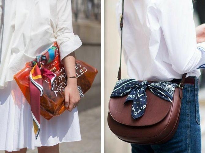Как завязать узкий платок: стильные способы 6
